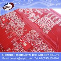 ENIG PCBs with red soldermask