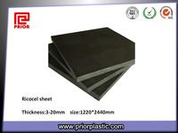 Black Anti-Static Material Ricocel Sheet for PCB Jig