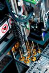 More and more often electronics manufacturers have to deal with large, heavy or very thin boards which frequently require support pins for the placement process in order to prevent warping or vibrations. With its SIPLACE Smart Pin Support, ASM Assembly Systems provides a hardware-software combination that simplifies this previously cumbersome and complex support pin placement process for all boards.
