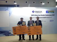 Best Emerging Exhibit / Best Exhibit Technology Awards presented by SMTA China during the SMTA China East Conference 2017.