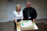 Ann Duncan and David Raby at Ann's 15-year anniversary celebration