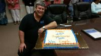 Mark McMeen recently celebrated his 15-year anniversary with the company.