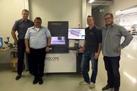 X-SPECTION 6000 at its demo lab in Kreuzwertheim, Germany.