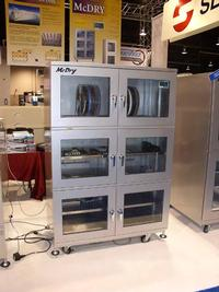 At the show, Seika will debut the MC-1002 PCB Storage Cabinet for the first time. The low-cost, high performance cabinet was developed to assist companies that are trying to conform to IPC-1601 August 2010 Printed Board Handling and Storage Guidelines.