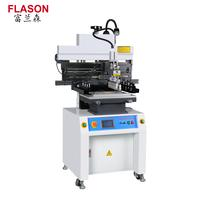 Semi-Auto SMT stencil printer Solder Paste Printer Manufacturer