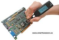 Digital Multimeter Smart Tweezers in Action