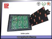 Custom Wave Solder Pallet with Top Hat Plate