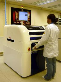 SP210avi Stencil Printer