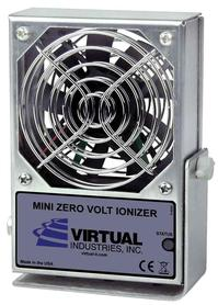 The VIR-STAT™ Air Ionizers (VS-100) eliminate static charges in ESD-sensitive assembly areas.
