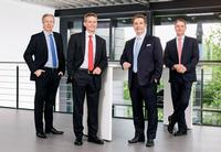 New Executive Board of Viscom AG - Dr. Martin Heuser, Peter Krippner, Carsten Salewski and Dirk Schwingel, (left to right)