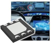 New Yorker Electronics supplies the new Vishay Semiconductor K857PE 4-quadrant photo detector in surface-mount package with an active area of 1.6mm2