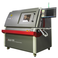 Microfocus X-Ray inspect equipment X-6600 for PCBA solder inspection