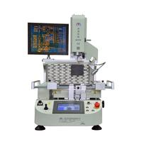 Zhuomao Automatic BGA rework station ZM-R6200 for cellphone/laptop/PSP motherboard repairing with optical alignment