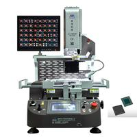 Zhuomao ZM-R720 Automatic BGA rework station with CCD camera alignment system and HD touch screen to rework BGA,LED