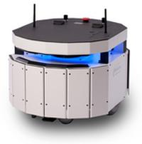Powered by Adept's Motivity Core, the Adept MT400 mobile robot finds its way, performs tasks, speaks, responds, and carries out other jobs automatically and on demand.