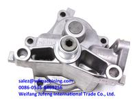 Carbon Steel Precision Casting Pump Body for Water Pump