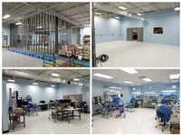 Epec's Battery Pack Assembly Area before and after construction.