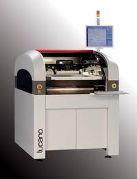 Tucano automatic stencil printer was designed based on experiences from solar wafer printing and metallization.