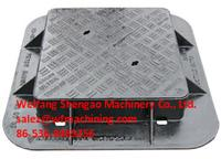 Hot Sale Iron Casting Manhole Cover from China Foundry