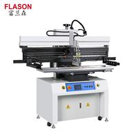 Flason SMT Touch screen Manual stencil printing machine / solder paste printer