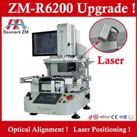 BGA rework station with hot air heater IR heater and CCD optical camera alignment ZM-R6200