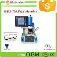 Sole manufacturer WDS-700 automatic optical alignment mobile phone BGA rework station with HD camera