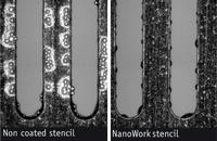 NanoWork® - Laser Cut Stencils With Anti-Adhesion Properties