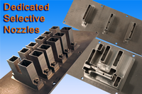 Dedicated Solid Titanium Solder Nozzles for Seho and Pillarhouse Selective Solder machines