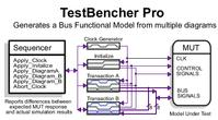 TestBencher Pro - VHDL, Verilog, and TestBuilder Graphical Test Bench Generation.