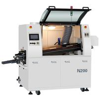 Touch screen SMD-N200 Ecomical lead free wave soldering machine