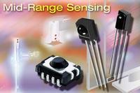 Vishay's new mid-range IR sensors with digital and analog output.