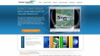 Senior Systems new website homepage