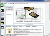 ECD's MAP 3.00 software operates within a unique Environment, which is attuned to specific profiling jobs.  Here, the Environment list can be seen on the toolbar on the left hand side of the image.