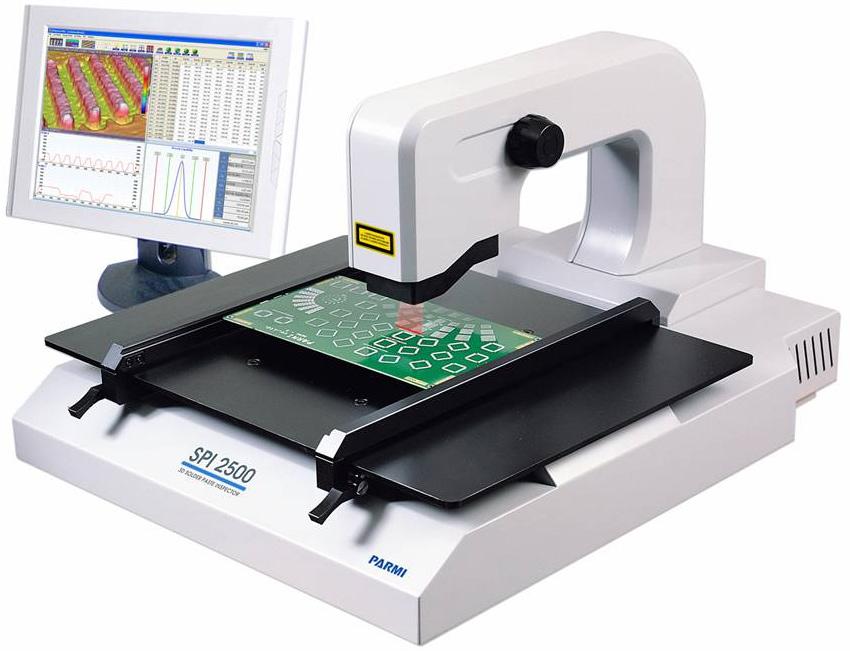Spi 2500 3d Solder Paste Inspection System