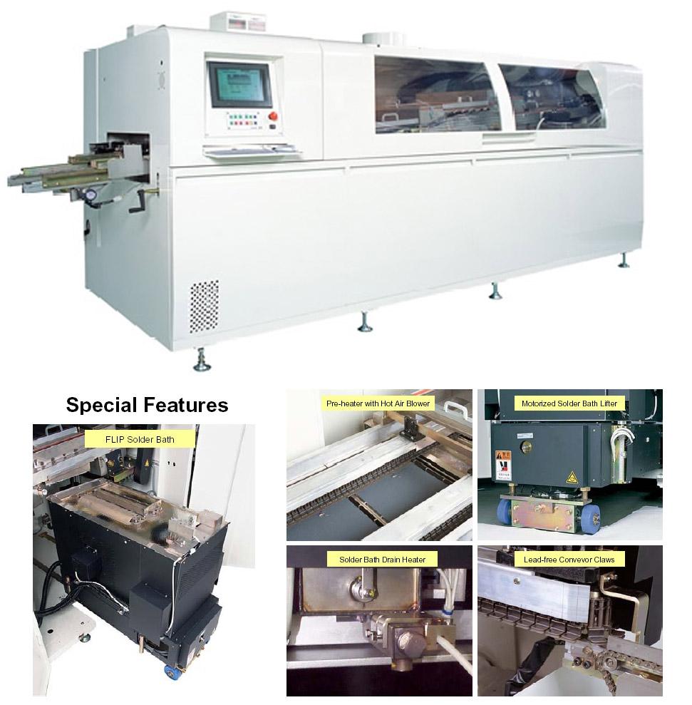 Hc Series N2 Wave Soldering Conventional Printed Circuit Board Soldered