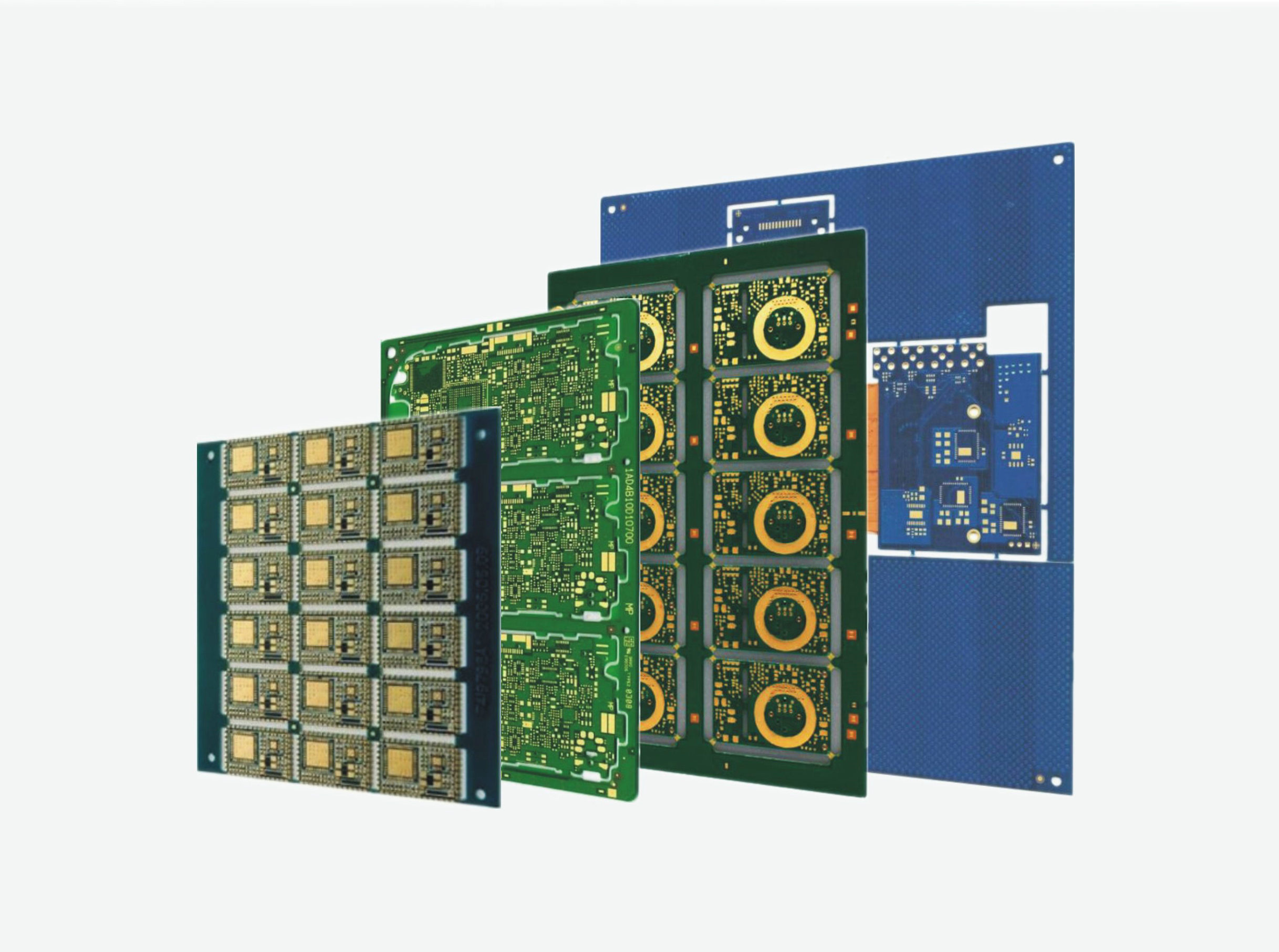 double and multi layer PCB for Military, Communication, Medical ...