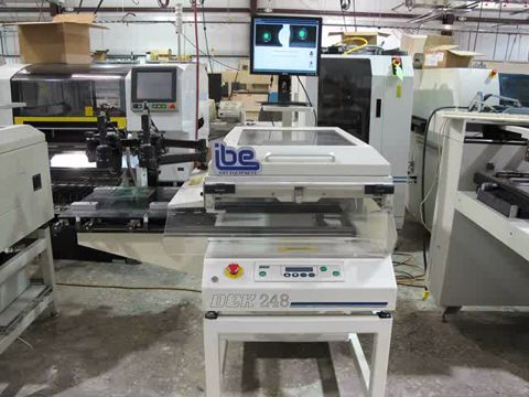 DEK 248CE Semi-Auto Screen Printer