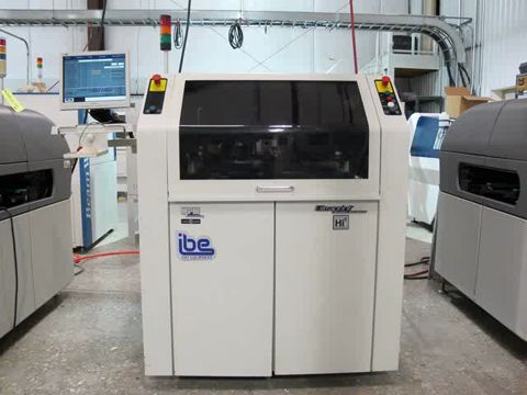 Speedline MPM UP2000/A HiE Screen Printer